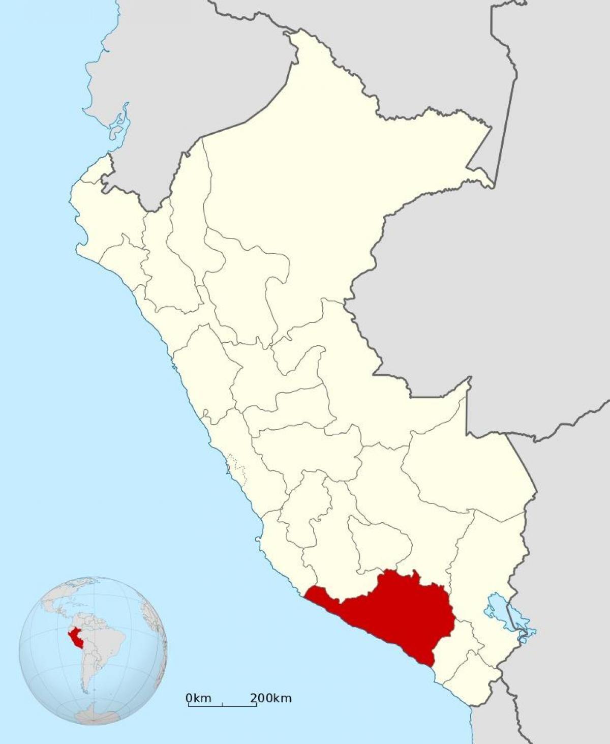 Arequipa Peru Map Arequipa Peru map   Map of arequipa Peru (South America   Americas) Arequipa Peru Map